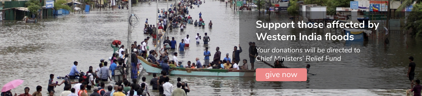 Support those affected by Western India floods
