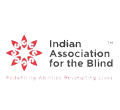 Indian Association for the Blind Logo