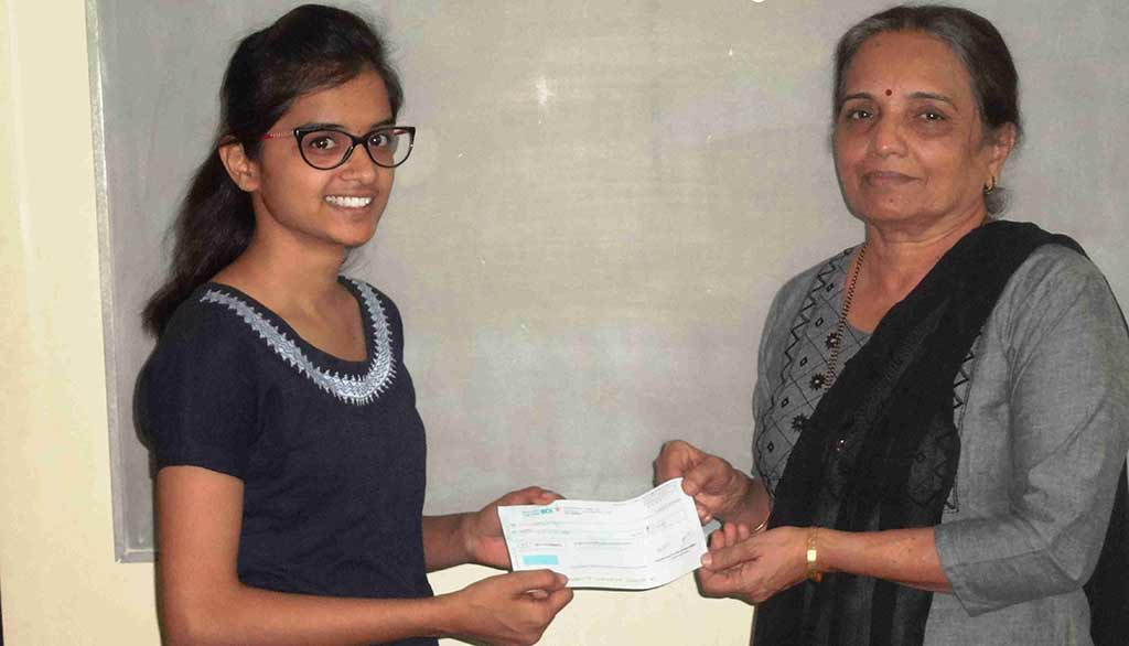 Gift a scholarship to a meritorious girl student