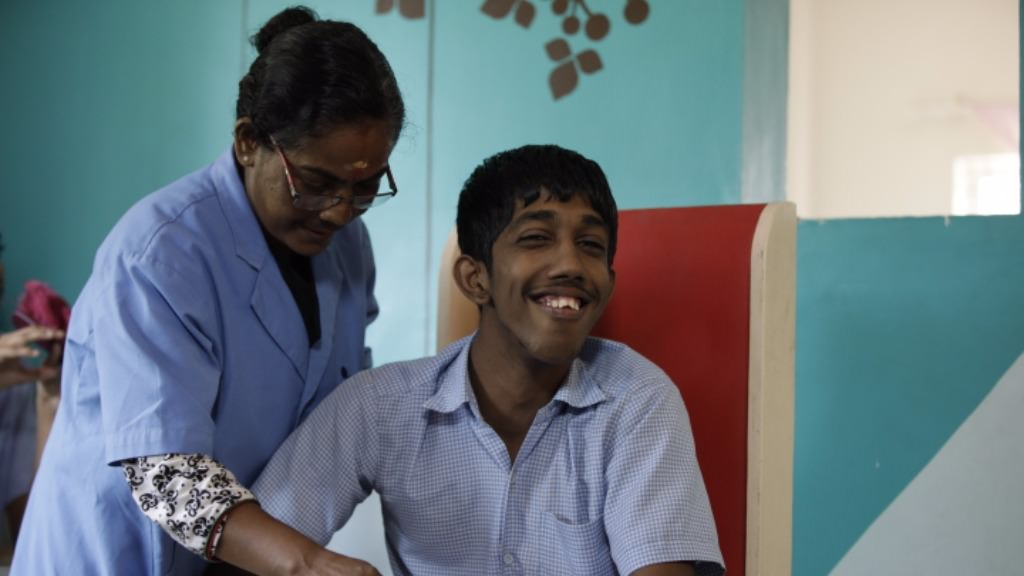 Help a differently abled child get independent with therapy