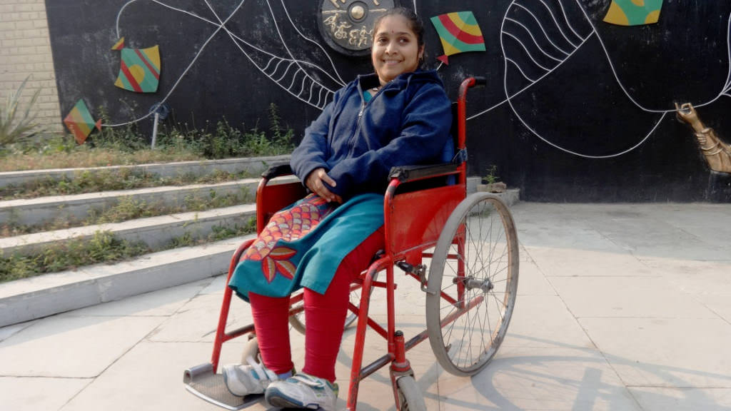Help a differently abled child with transport