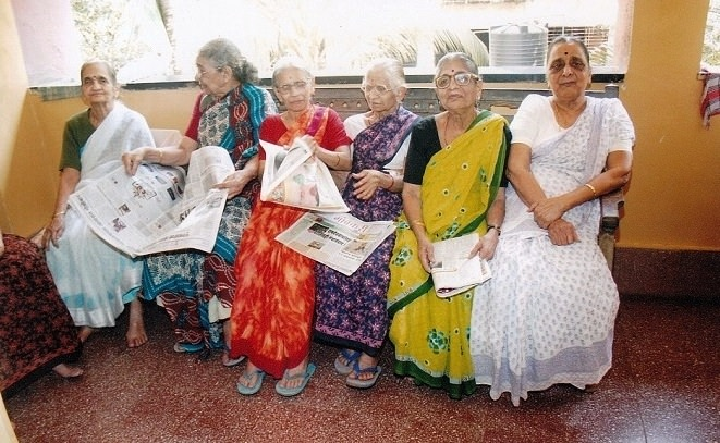 Help a grandma by sponsoring her food expenses in an old-age home