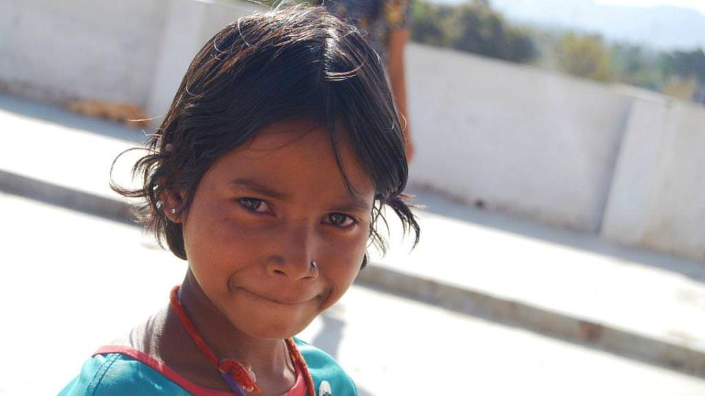 Help a tribal girl with access to basic nutrition