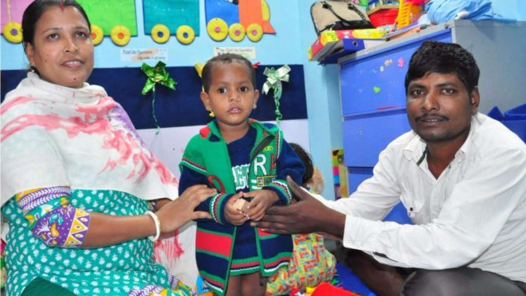 Sponsor hospital expenses for cleft surgery for a poor child