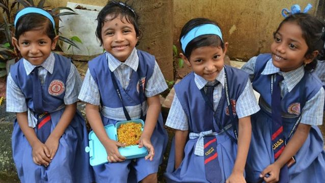 Sponsor mid day meals to children in Maharashtra