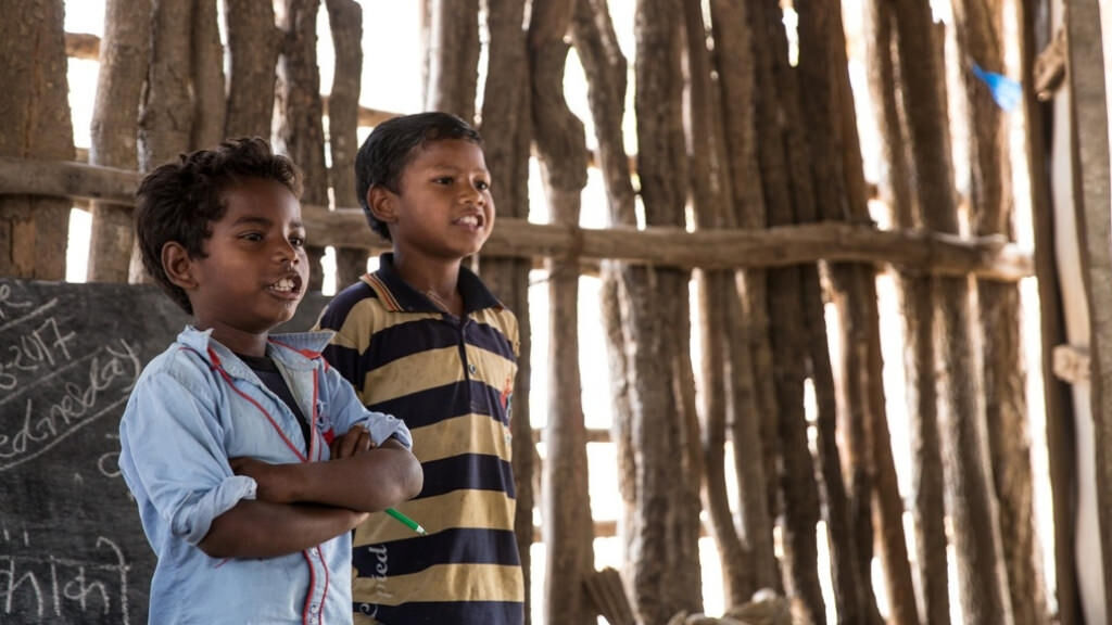 Help children in rural areas to fight for their rights