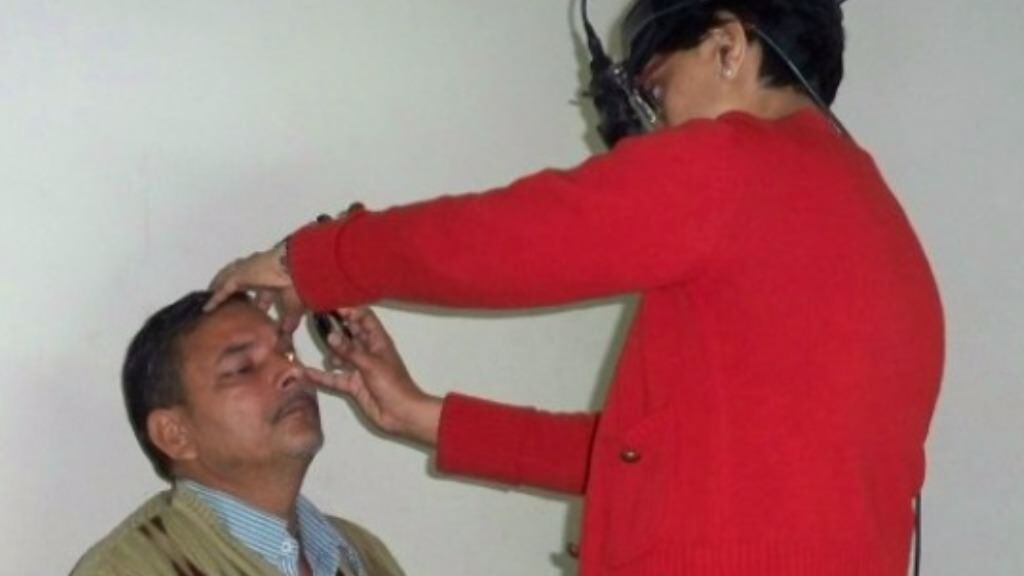 Sponsor a phaco eye surgery for a poor patient