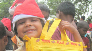 Fulfill little desires of underprivileged children
