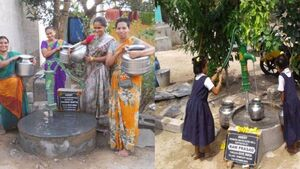 Help a community get access to water