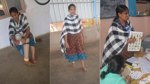 Help a differently abled person walk by sponsoring a mobility aid