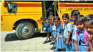 Sponsor monthly bus fees for a tribal child in a remote area