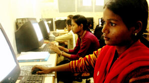 Support poor students get access to IT and vocational training