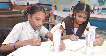 Educate a girl child in an integrated environment