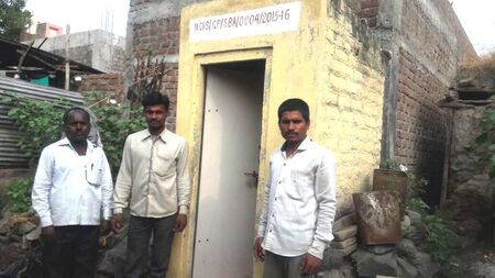 Gift a family access to sanitation