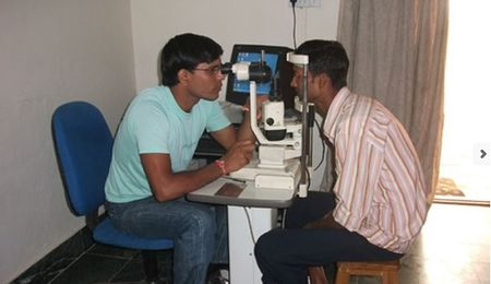 Help provide cataract surgery to people in Rajasthan