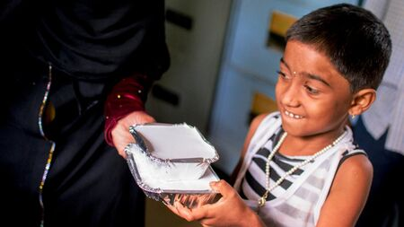 Provide nutrition supplements to children with cancer