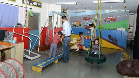Sponsor physiotherapy sessions for a differently abled person