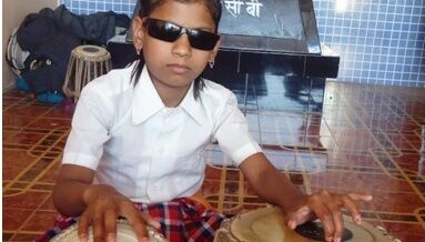 Sponsor the expenses of an underprivileged visually impaired girl
